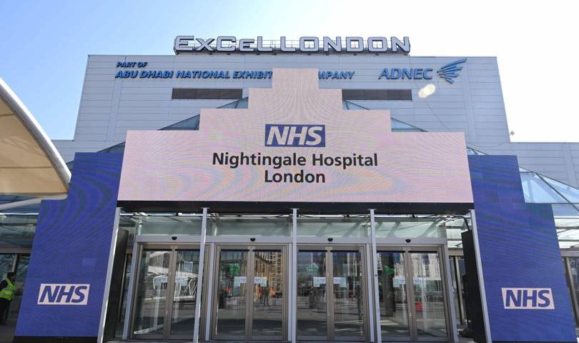 NHS Nightingale Hospital and Oi London