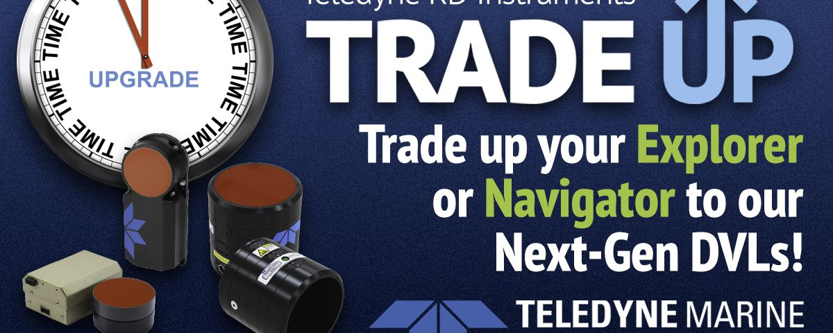 Teledyne RDI DVL Trade Up Offer