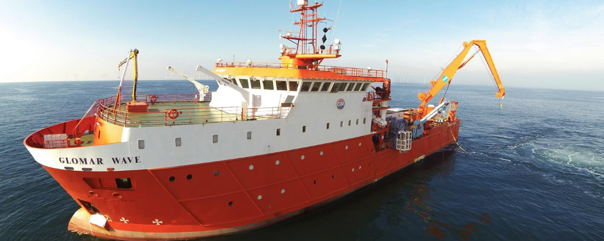 Rovco Charters Glomar Wave for Summer/Autumn Offshore Wind ROV Campaigns