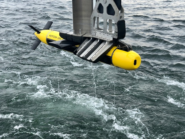 Royal Danish Navy takes the KATFISH out to sea