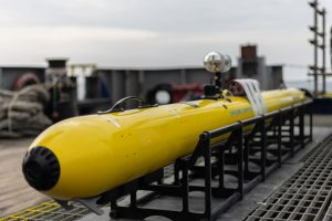 An autonomous underwater vehicle