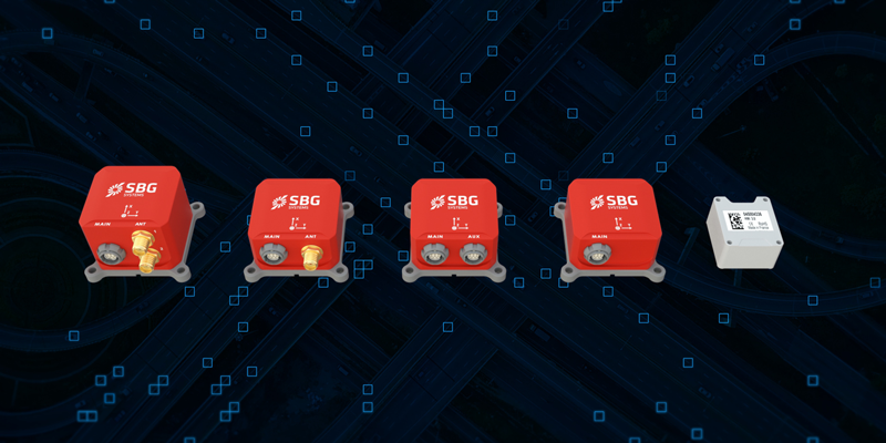 SBG Systems unveils new miniature inertial sensors