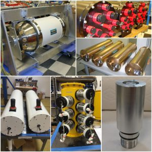 Three images showing Prevco subsea valves